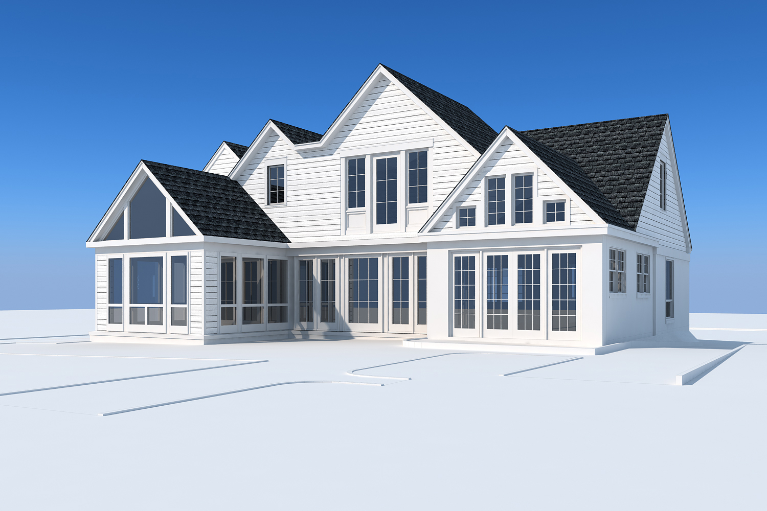 Home Addition - Conceptual rendering